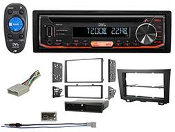 1-Din JVC CD Player Receiver USB/AUX/MP3 3-Band Eq+Remote Fo