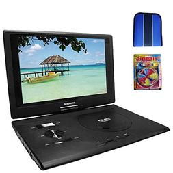 Sylvania 13.3 DVD Player  w/ USB/SD Card Reader - Essentials