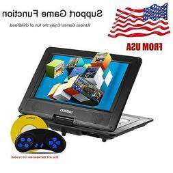 10.1 inches 16:9 TFT Screen Portable DVD Player SD USB AV Fo