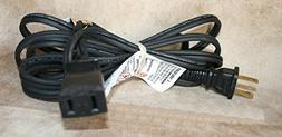 Teac NEW 2 Prong/Socket Aftermarket Reel to Reel POWER CORD
