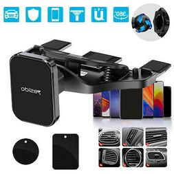 2In1 CD Player Slot Magnetic Car Mount Holder for Cell Phone