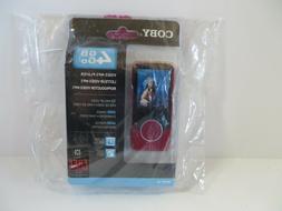 "Coby 4GB Go Video MP3 Player FM Radio 2"" LCD Screen - MP707-"