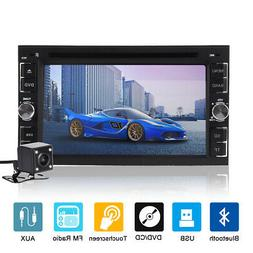 "6.2"" Touch Screen 2DIN In Dash Car DVD CD Player Radio Stere"