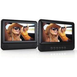 "Sylvania 7"" Duel Screen DVD Player SDVD7751 brand New"