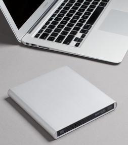 Archgon Aluminum External USB DVD+Rw,-RW Super Drive for App