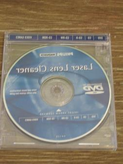 CD & DVD LASER LENS CLEANER by Philips