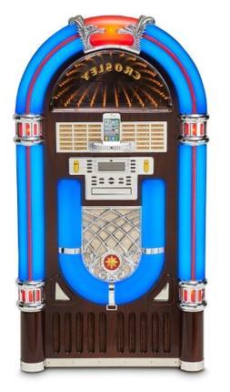 Crosley CR12-2i iJuke Deluxe Jukebox with Universal iPod Doc