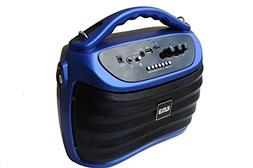 EMB PKX5BT 300W Portable Rechargeable Boom Box Speaker - Blu