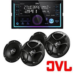 "JVC 2-Din In-Dash Car Stereo CD Player +300 Watts 6.5"" + 6"""