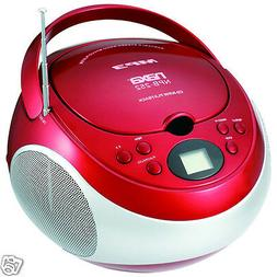NAXA Electronics Portable MP3/CD Player with AM/FM Stereo Ra