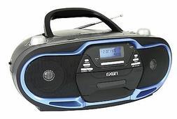NAXA Portable MP3/CD Player AM/FM Stereo Radio & USB Input