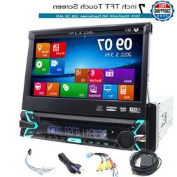 """NEW Double 2DIN DVD CD Player 6.2"""" Bluetooth Receiver GPS Ca"""