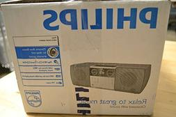 Philips MCM1006 Micro Portable Hi-Fi System, CD Player, MP3