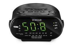 Sony ICFC318 Clock Radio - LED Alarm - FM