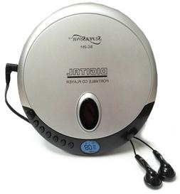 Supersonic Personal Portable CD player with Earphones CD-R C