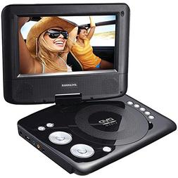 Sylvania Portable DVD Player. 7 Swivel Screen
