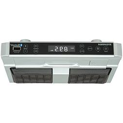 Sylvania SKCR2810BT Under Cabinet Clock Radio, Music System