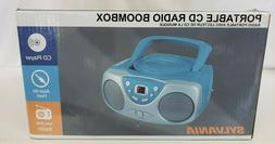 Sylvania SRCD243 Portable CD Player with AM/FM Radio, Boombo
