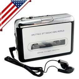 USA SHIP! USB Cassette Tape to MP3 iPod CD Converter Capture