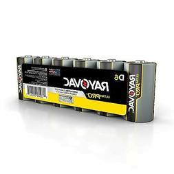 Rayovac Alkaline Battery Size D 6 Pack