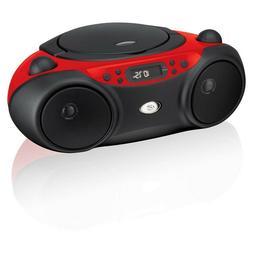 am/fm cd boom box   gpx boombox player radio with portable p