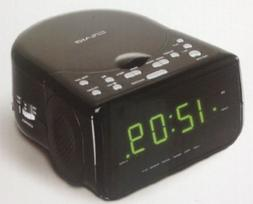 Craig AM/FM Stereo Dual Alarm Clock Radio with CD Player and