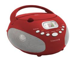 AMFM CD Boombox - Red