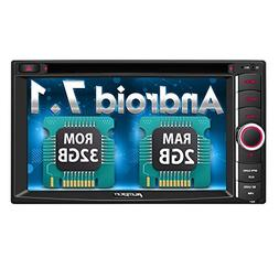 PUMPKIN Android 7.1 Car Stereo Double Din 2GB+ 32GB with DVD