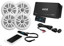 BOSS Audio ASK904B.64 Marine 500 Watt 4 Channel Amplifier /