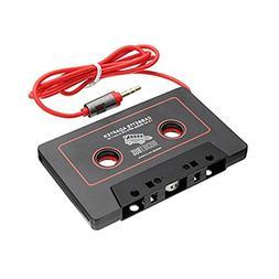 RocketBus Audio Cassette Tape Adapter Aux Cable Cord 3.5mm J