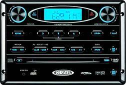 Jensen AWM965 AM/FM,CD,DVD,MP3/USB Wall Mount Stereo, DVD Pl