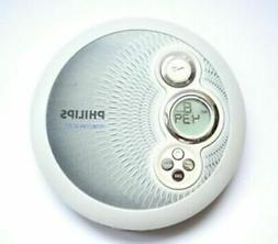 Philips AX2411 Portable CD Player w/45sec Skip Protection