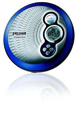 Philips AX2420 Portable CD Player w/45 Sec Skip Protection