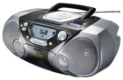 Philips AZ1065 CD Boombox with Digital Tuner and Remote