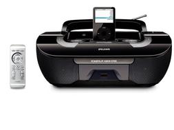 Philips AZ1330D MP3/WMA-CD Speaker System with Remote Contro