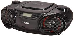 Philips AZ3811 Portable Boombox MP3 CD Player AM/FM Radio St