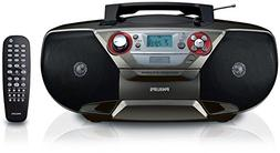 Philips AZ5741 DVD Soundmachine - Boombox with Region Free D