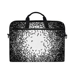 Black in Music ImageHandbag Laptop Briefcase, Multi-Function