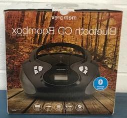 Memorex Bluetooth CD/MP3 Boombox AM/FM Tuner w/ Digital Disp