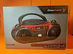 Blackweb Bluetooth CD Player With Digital FM Radio