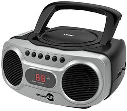 HDi Audio Boombox CD-518 Sport Stereo Portable CD Player wit