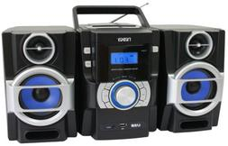NAXA BOOMBOX PORTABLE MP3/CD PLAYER with PLL FM RADIO USB IN