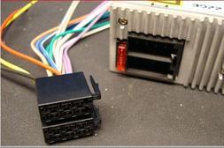 Boss Car Sterio Head Unit 16-pin Wire Harness Power Plug CD