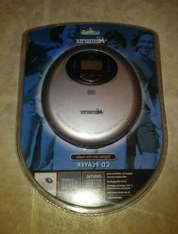 BRAND NEW Memorex CD Player with AM/FM RADIO #MD6883GRY