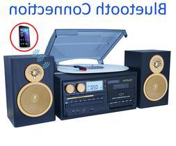 Boytone BT-28SPG 3-Speed Bluetooth Turntable System, Front L