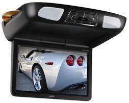 BOSS Audio BV10.1MC 10.1 Inch Flip-Down Car Monitor, DVD/CD/