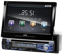 BOSS AUDIO BV9973 Single-DIN 7 inch Motorized Touchscreen DV