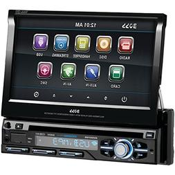"BOSS AUDIO BV9979B 7"" Single-DIN In-Dash Flip-Up DVD Receive"
