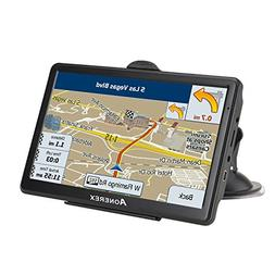 Car GPS navigation, 7-inch HD voice prompt system, Capacitiv