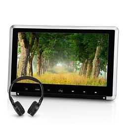 NAVISKAUTO 10.1 Inch Car Headrest DVD Player HD 1080P TFT LC